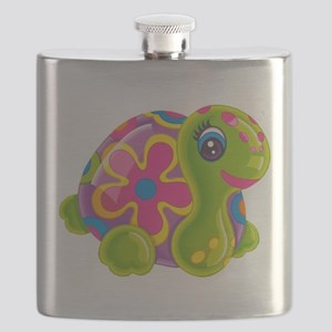 WEGLisaFrankTurtleWEG1 Flask