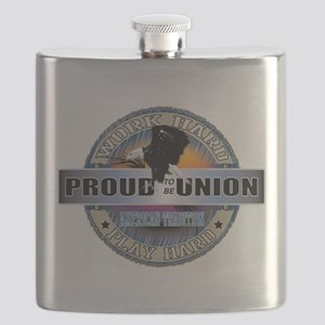 Proud to be Union Flask