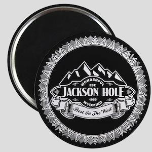 Jackson Hole Mountain Emblem Magnet
