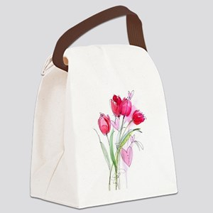 Tulip2a Canvas Lunch Bag