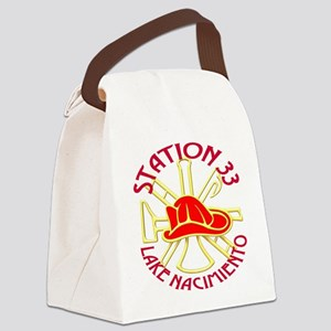 STATION 33 Canvas Lunch Bag