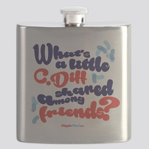 C. diff Among Friends 02 Flask