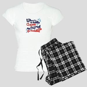 C. diff Among Friends 02 Women's Light Pajamas