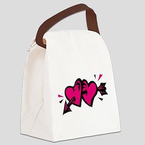 00151565pnkblk.png Canvas Lunch Bag
