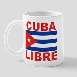 Cuba Libre Free Cuba Mug