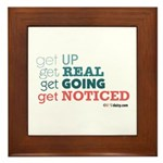 Get Up Framed Tile