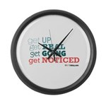 get UP Large Wall Clock