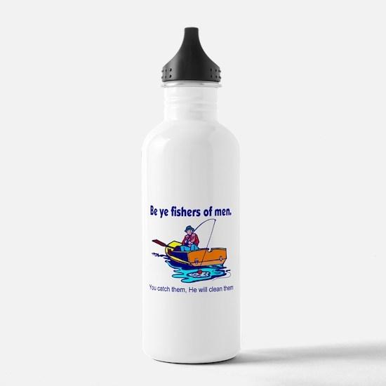 Be ye fishers of men Water Bottle