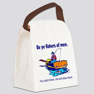 Be ye fishers of men Canvas Lunch Bag