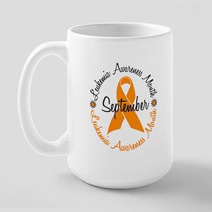 Leukemia Awareness Month Large Mug