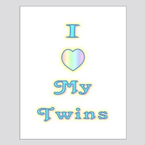 """""""Baby Love Twins"""" Small Poster"""