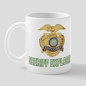 Sheriff Explorer Mug