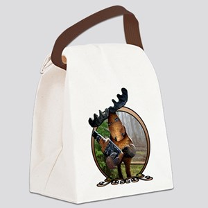 Party Moose Canvas Lunch Bag