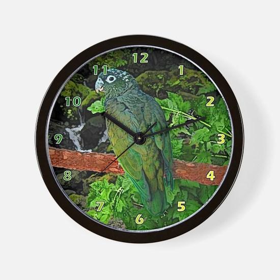 Pionus Art Wall Clock