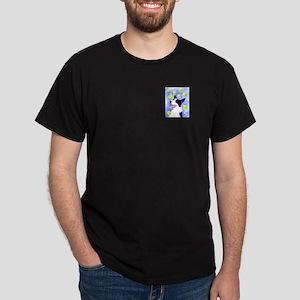 Border Collie Dark T-Shirt - Option 2