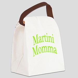 Martini Momma Canvas Lunch Bag