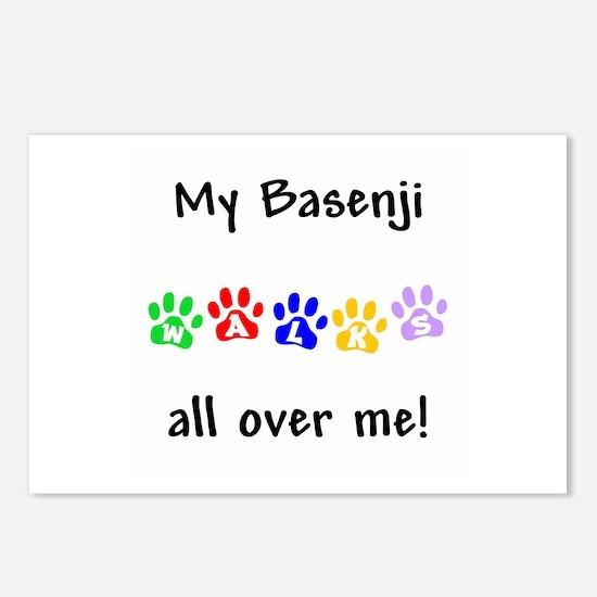 Basenji Walks Postcards (Package of 8)