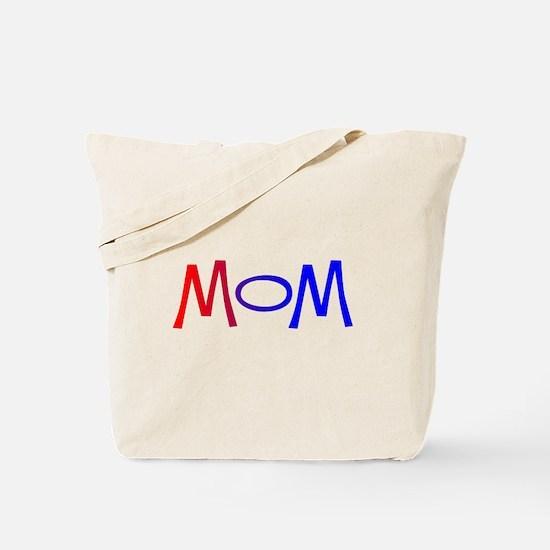 Red White Blue Mom Tote Bag