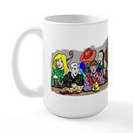 Tough Crowd Large Mug