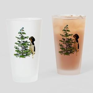 Bird Dog Tree Drinking Glass