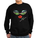 Vogue Fashion Girl Sweatshirt (dark)