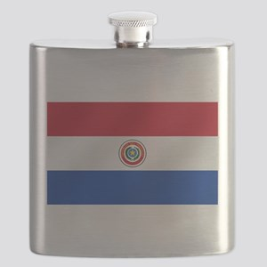 Flag of Paraguay Flask
