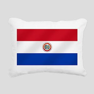 Flag of Paraguay Rectangular Canvas Pillow