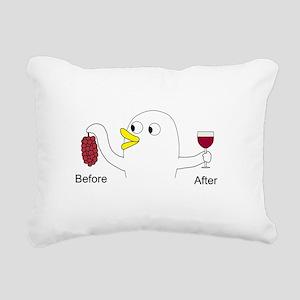 Wine Maker Rectangular Canvas Pillow