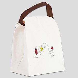 Wine Maker Canvas Lunch Bag