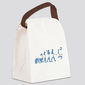 Argentinia Soccer Evolution Canvas Lunch Bag