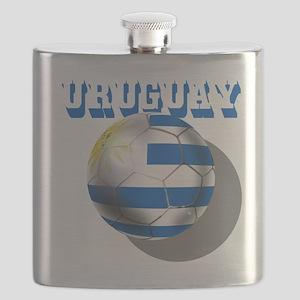Uruguay Soccer Ball Flask