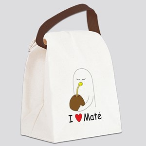 I love mate. Canvas Lunch Bag
