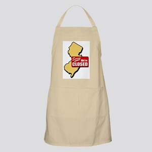 Sorry, We're Closed BBQ Apron