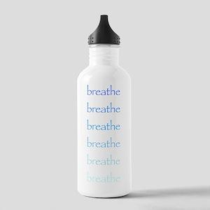 Breathe, breathe, breathe. Stainless Water Bottle
