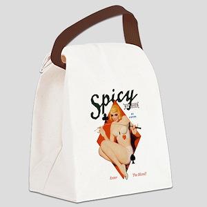 Fencing spicysories... Canvas Lunch Bag