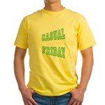 Casual Friday Yellow T-Shirt