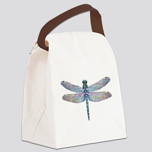 night dragonfly Canvas Lunch Bag