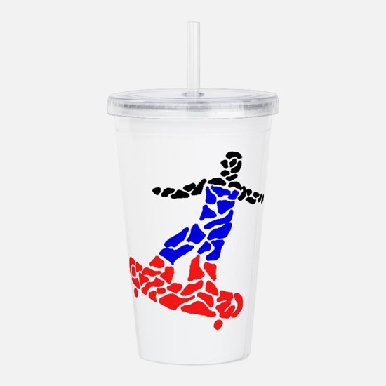 THE ROAD KINGS Acrylic Double-wall Tumbler