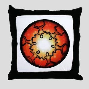 six nations Throw Pillow