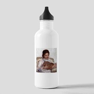 Mary Cassatt The Reader Stainless Water Bottle 1.0