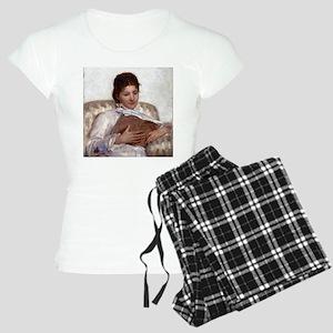 Mary Cassatt The Reader Women's Light Pajamas