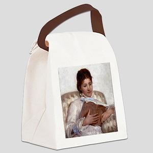 Mary Cassatt The Reader Canvas Lunch Bag