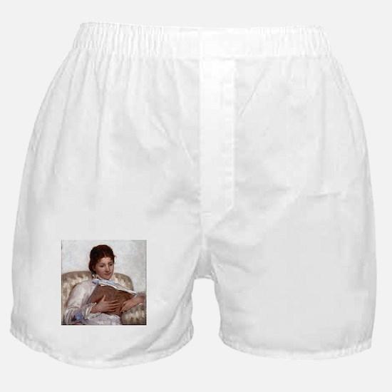 Mary Cassatt The Reader Boxer Shorts