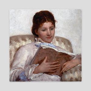 Mary Cassatt The Reader Queen Duvet