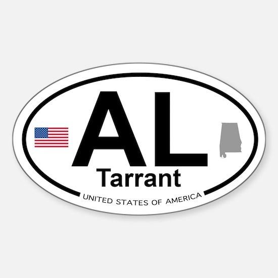 Tarrant Sticker (Oval)