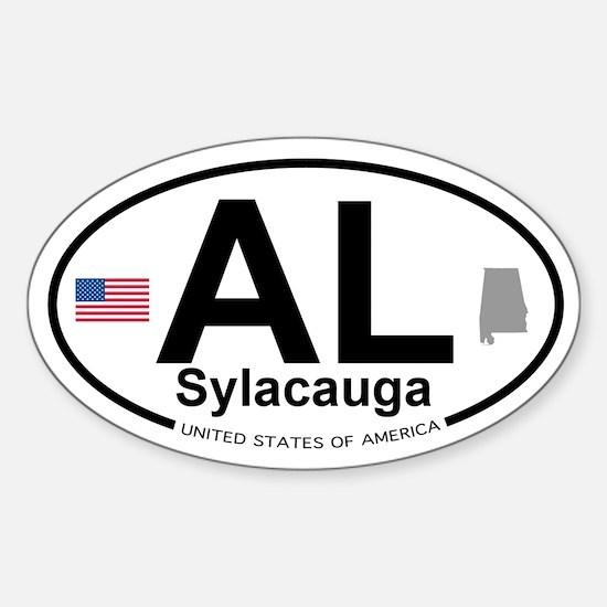 Sylacauga Sticker (Oval)