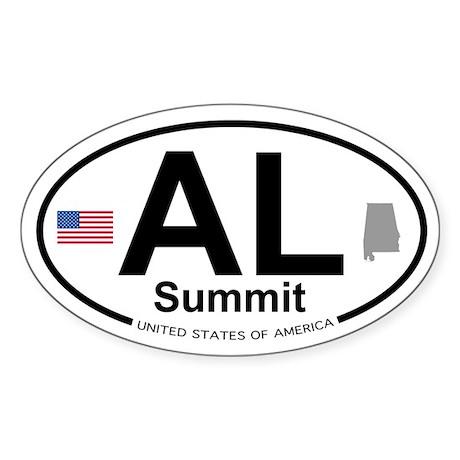 Summit Sticker (Oval)