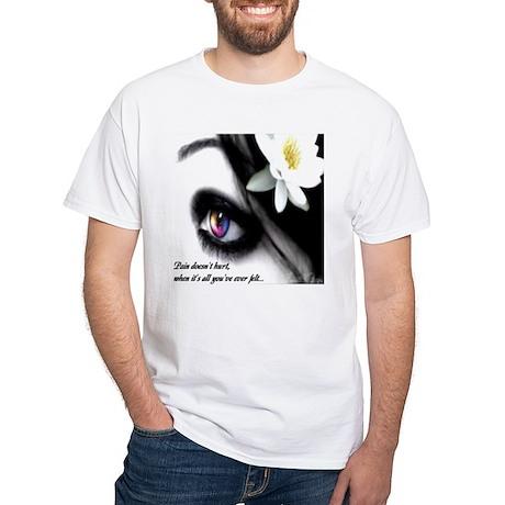 Pain Tee White T-Shirt
