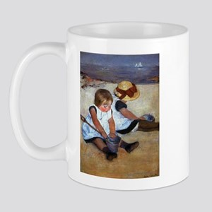 Children On The Beach Mug