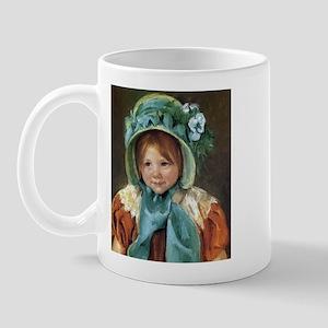 Sara In Green Bonnet Mug